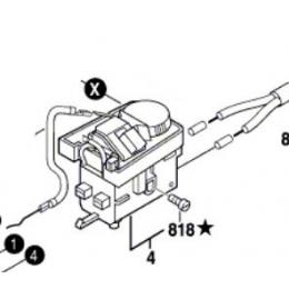 Bosch 2607200289 Commutateur de Perceuse GWB10RE et Scie PMS400PE