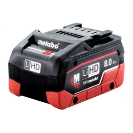 Metabo 625369000 Batterie Li-ion 18V 8.0Ah Li-HD