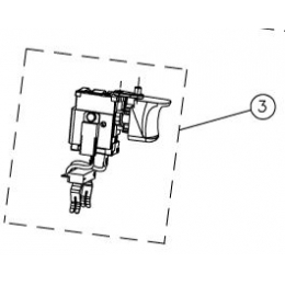 Ryobi 5131029439 Interrupteur Perceuse RCD1802, RCD1822, RCD18021