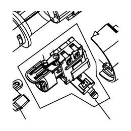 Ryobi 5131008023 Interrupteur Perceuse CHI1442 et CHI1802P