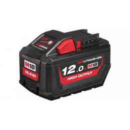Milwaukee M18 HB12 Batterie 18V 12.0Ah Red Lithium-Ion High Output (4932464260)